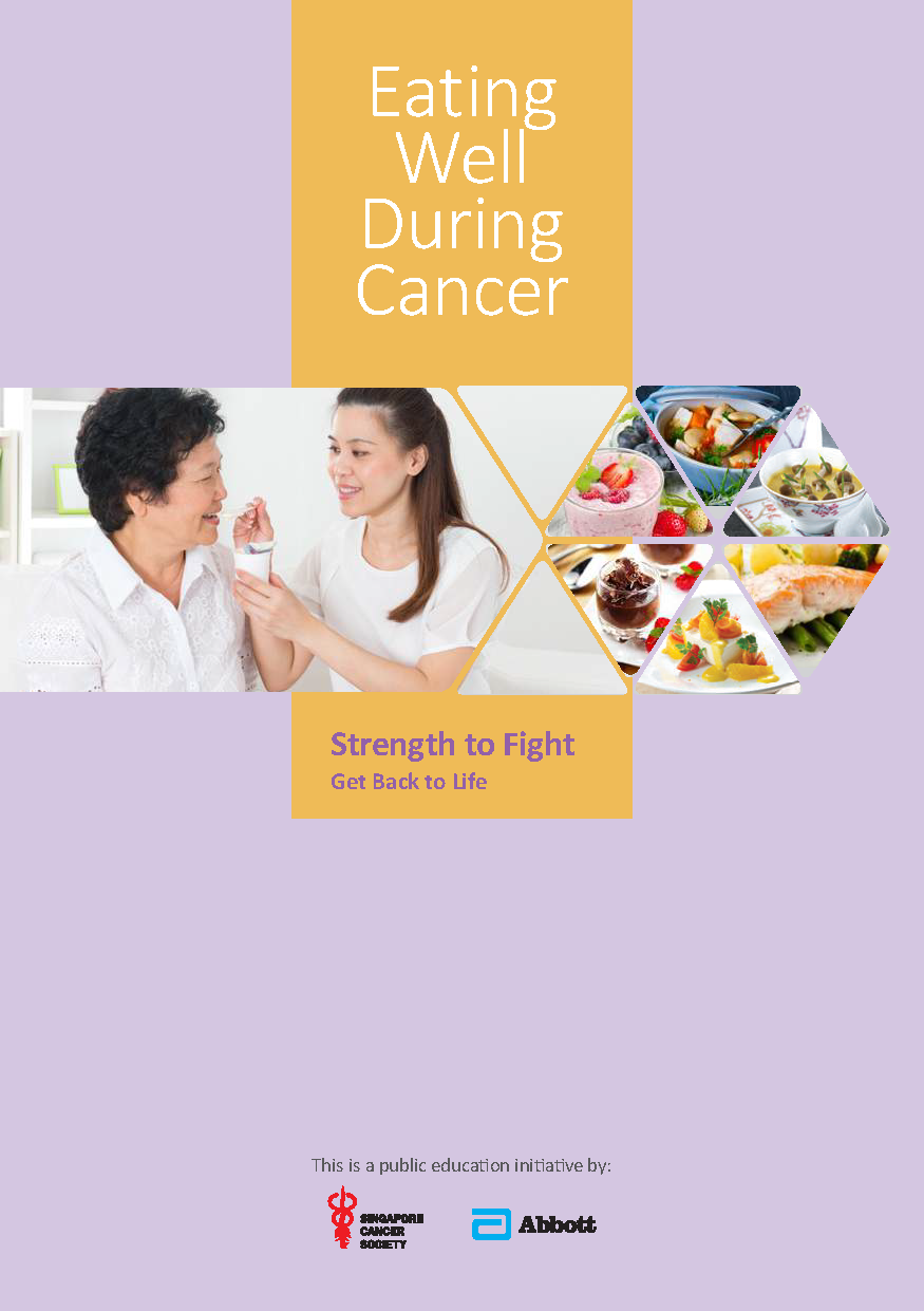 scs eating well during cancer booklet